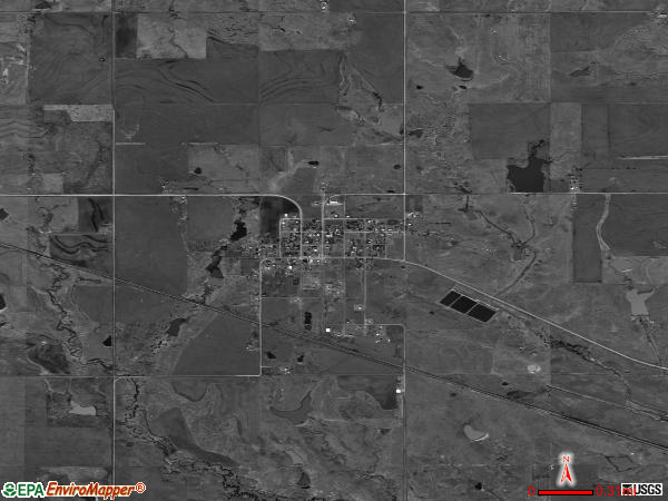 Hastings satellite photo by USGS