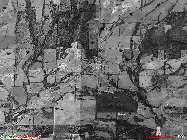 Mount Vernon satellite photo by USGS