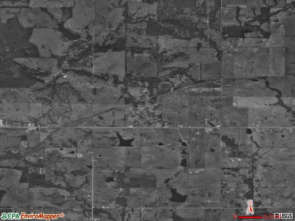 Mead satellite photo by USGS