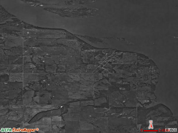 Tamaha satellite photo by USGS