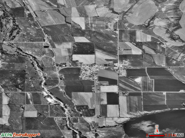 Richland satellite photo by USGS 