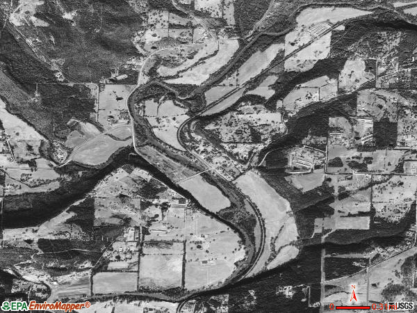 Rudy satellite photo by USGS