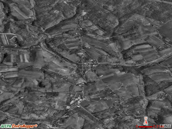 Hookstown satellite photo by USGS 