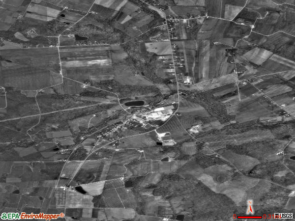 Orrtanna satellite photo by USGS