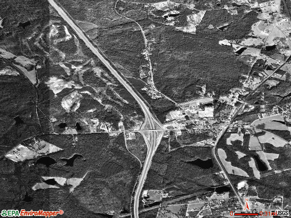 Blythewood satellite photo by USGS