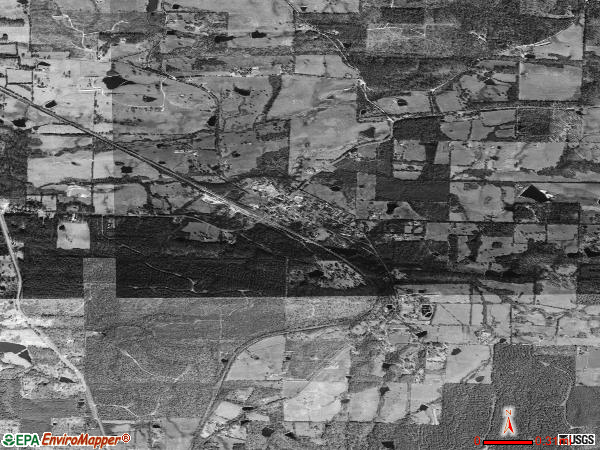 Vandervoort satellite photo by USGS