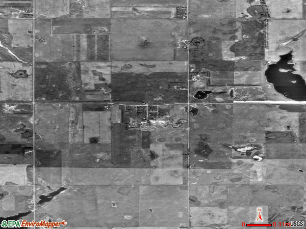 Roswell satellite photo by USGS