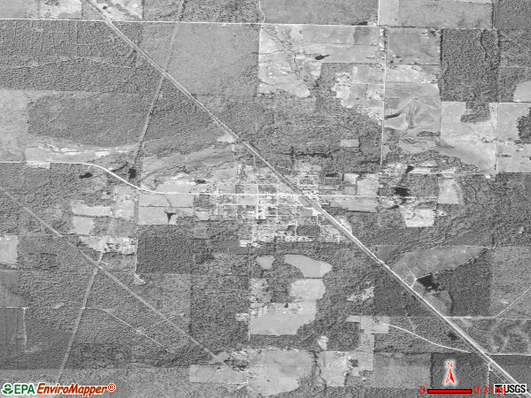 Winthrop satellite photo by USGS