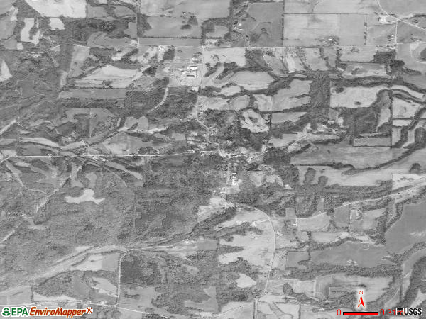 Cottage Grove satellite photo by USGS