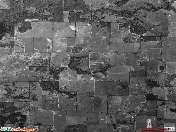 Cottonwood satellite photo by USGS 