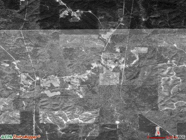 Needham satellite photo by USGS