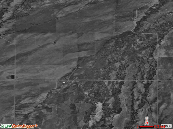 Robertson satellite photo by USGS