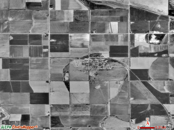 Hartman satellite photo by USGS