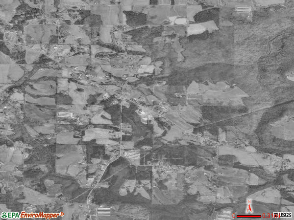 Union Grove satellite photo by USGS