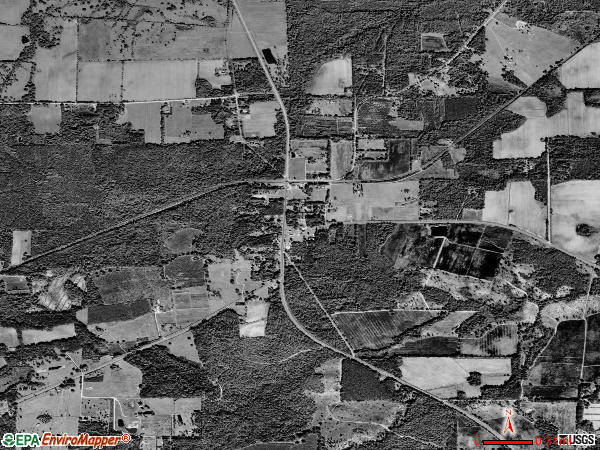 La Crosse satellite photo by USGS 