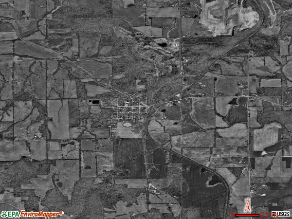 Buncombe satellite photo by USGS