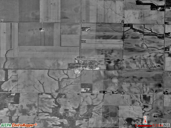Sciota satellite photo by USGS