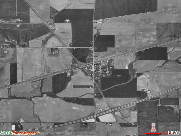 Smithboro satellite photo by USGS