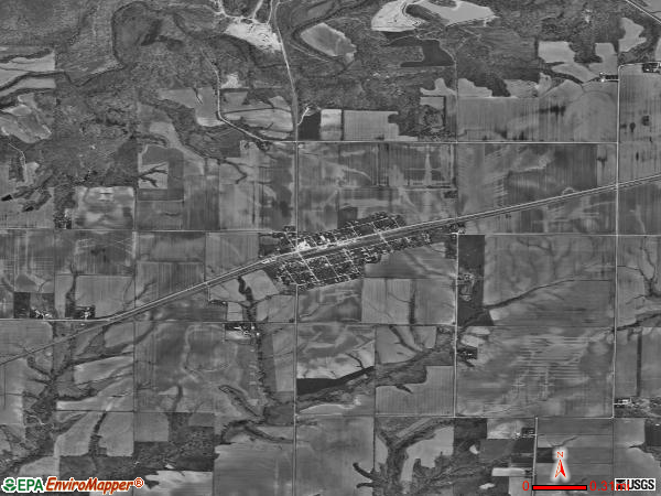 Tennessee satellite photo by USGS