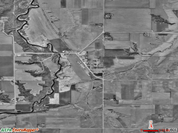 Gillett Grove satellite photo by USGS