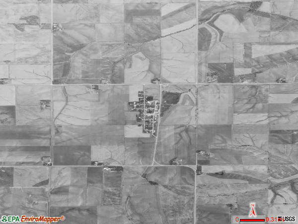 Hartwick satellite photo by USGS