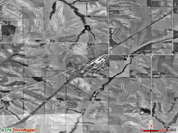 McClelland satellite photo by USGS 