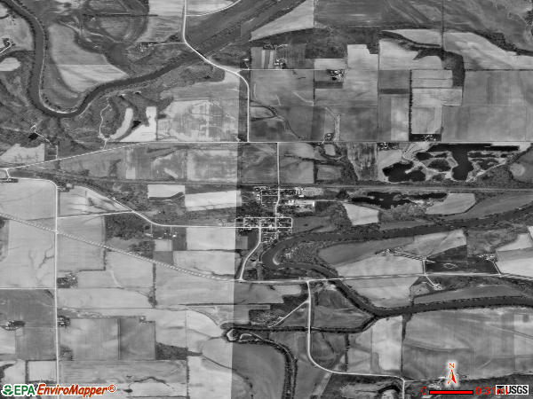 Rome satellite photo by USGS