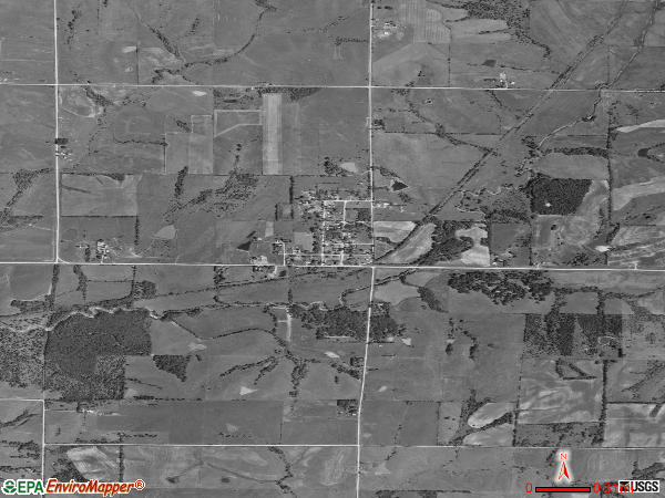 Shannon City satellite photo by USGS