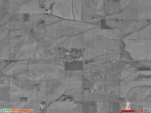 Westphalia satellite photo by USGS