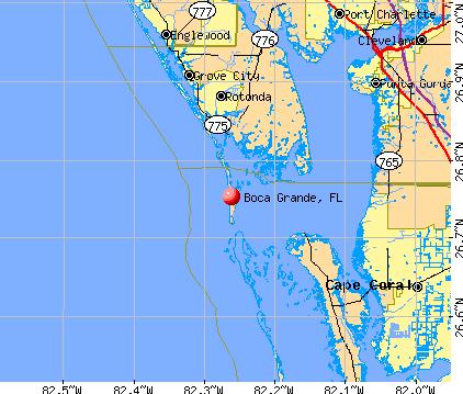 boca grande map