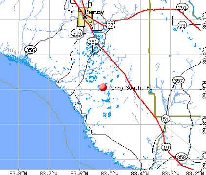 Perry Florida Map Perry South, Florida (FL) profile: population, maps, real estate